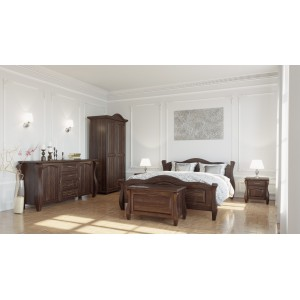Łóżko LOVANO ze skrzynią na pościel 3