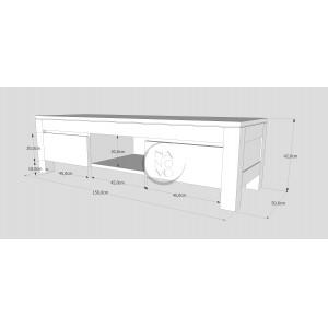 Komoda drewniana ENZO 13 (2S) 2