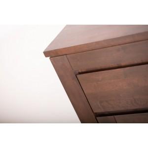 Toaletka z lustrem, drewniana ENZO 9