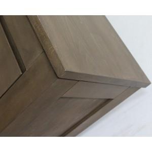 Toaletka z lustrem, drewniana ENZO 12