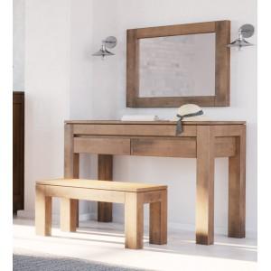 Toaletka z lustrem, drewniana ENZO 3