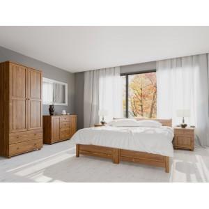 Łóżko sosnowe Classic 3