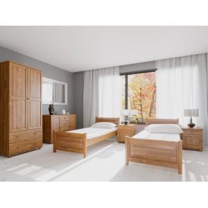 Łóżko sosnowe Classic 4