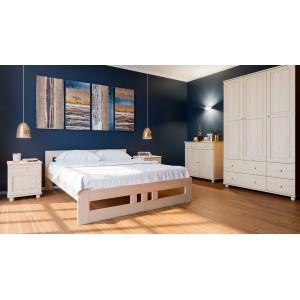 Łóżko sosnowe Classic Plus 3