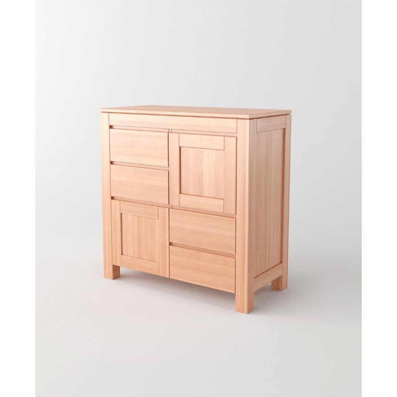 Komoda drewniana ENZO 06 (2D+ 4S)