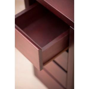 Toaletka Lovano ze stołkiem