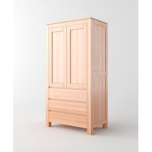 Szafa dwudrzwiowa, drewniana ENZO