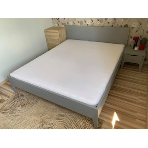Łóżko sosnowe Retro 2