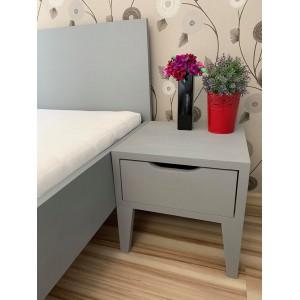 Łóżko sosnowe Retro 8