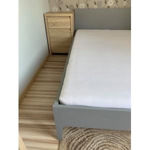 Łóżko sosnowe Retro 9