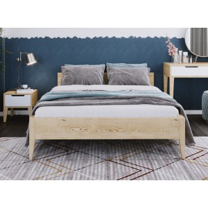 Łóżko sosnowe Retro 1