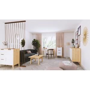 Stół sosnowy RETRO 160x75x90 cm 4