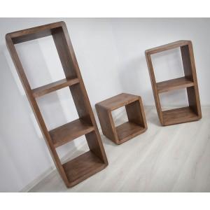 Regał drewniany FORTE II 3