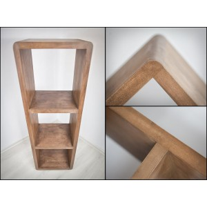 Regał drewniany FORTE II 6