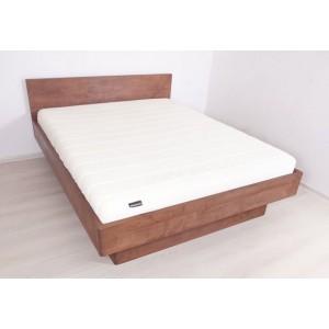 Łóżko bukowe z cofniętym pojemnikiem FORTE 7