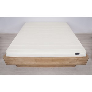 Łóżko bukowe z cofniętym pojemnikiem FORTE LITE 6
