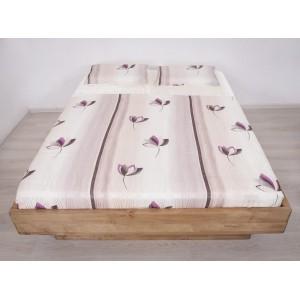 Łóżko bukowe z cofniętym pojemnikiem FORTE LITE 7