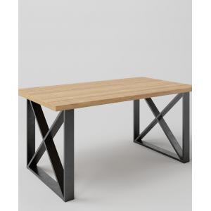 Stół drewniany na metalowych nogach TAVOLO