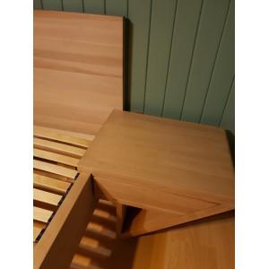 Łóżko drewniane ZEN lewitujące 32