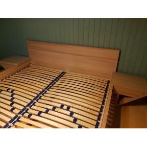 Łóżko drewniane ZEN lewitujące 34