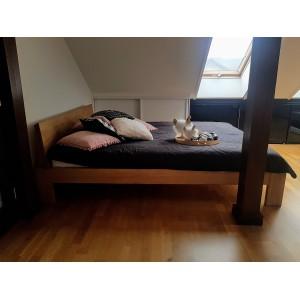 Łóżko drewniane LUNA 7