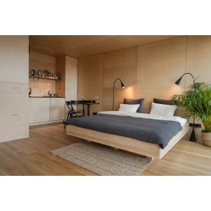 Łóżko drewniane ZEN lewitujące 10