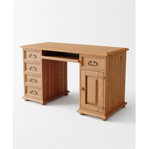Sosnowe biurko Rustyk