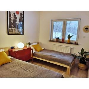 Łóżko drewniane TEKO 38