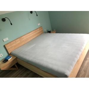 Łóżko drewniane ZEN lewitujące 9