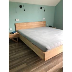 Łóżko drewniane ZEN lewitujące 8