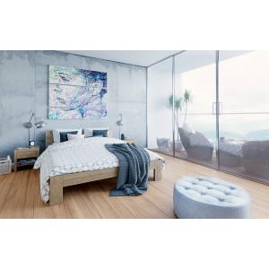 Łóżko drewniane LUNA 2