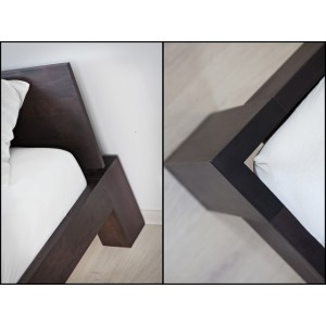 Łóżko drewniane LUNA 16