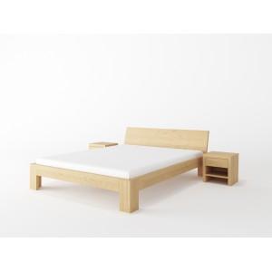 Łóżko drewniane LUNA
