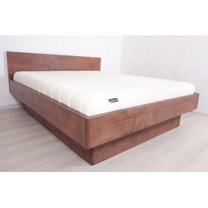Łóżko bukowe z pojemnikiem FORTE 6