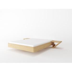 Łóżko drewniane ZEN LITE lewitujące