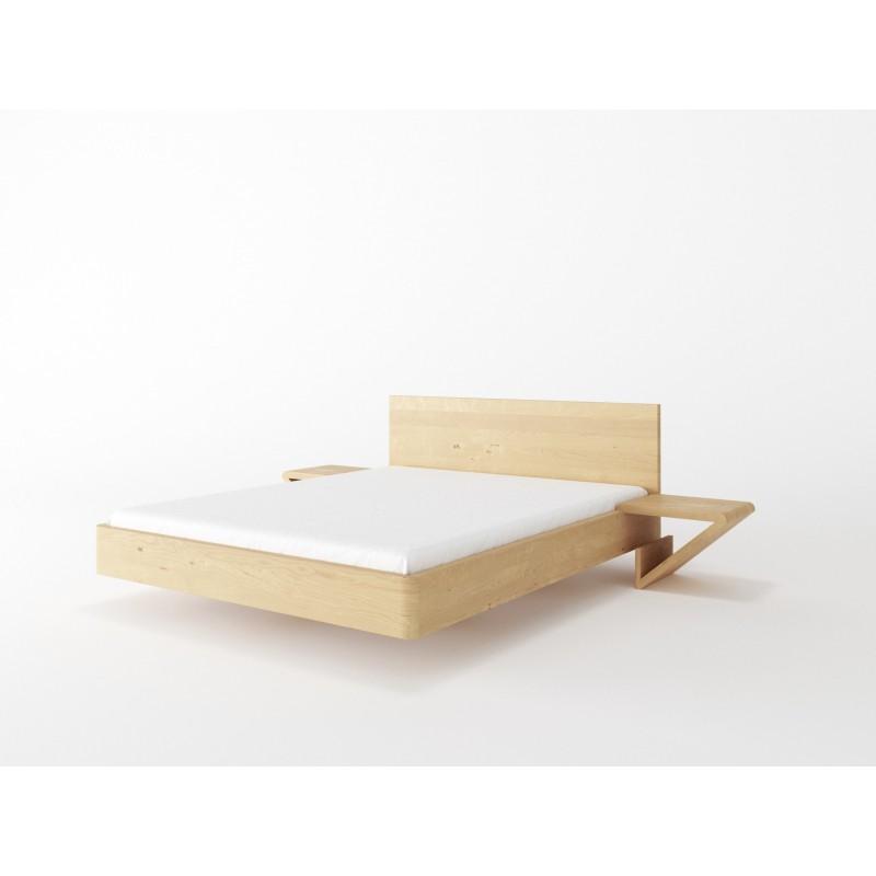 Łóżko drewniane ZEN lewitujące