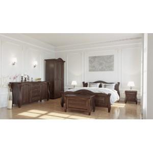 Łóżko LOVANO sosnowe 2