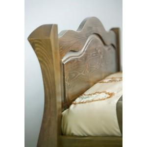 Łóżko LOVANO niskie, sosnowe 15