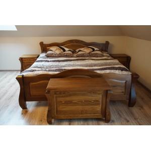 Łóżko LOVANO niskie, sosnowe 16