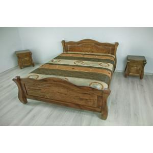 Łóżko LOVANO niskie, sosnowe 19