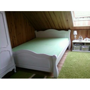 Łóżko LOVANO niskie, sosnowe 21
