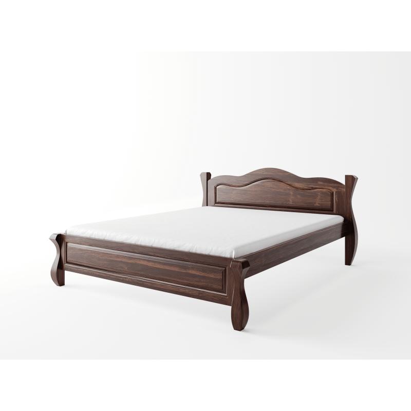 Łóżko LOVANO niskie, sosnowe