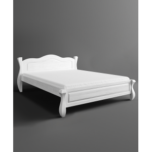 Łóżko LOVANO niskie, sosnowe 1