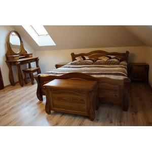 Łóżko LOVANO ze skrzynią na pościel 8